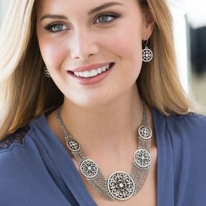Touchstone Crystal By Swarovski Angelique Necklace